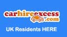 Carhireexcess.com car hire excess insurance for UK Residents logo