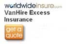 Van hire excess insurance from Worlwideinsure  logo